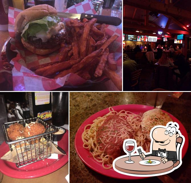 Food at Chops Grille & Tap House