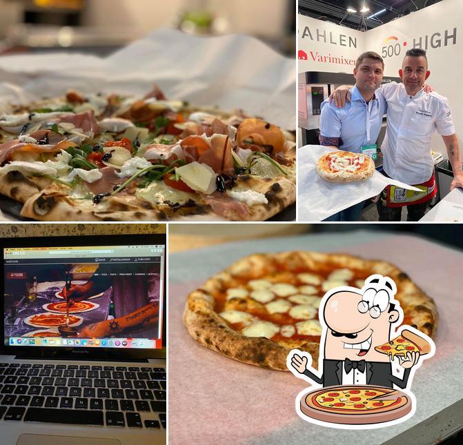 Pick pizza at Da Riccardo Pizza Pasta Catering