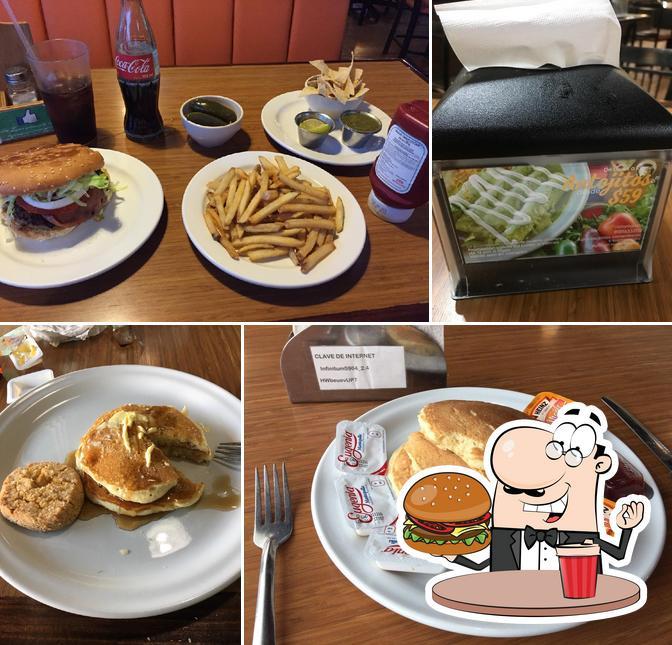 Tómate una hamburguesa en EL LUGAR DE MAX