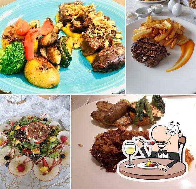 Comida en Restaurante Faré