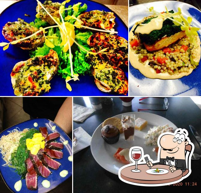 Food at Fish Tale Grill by Merrick Seafood