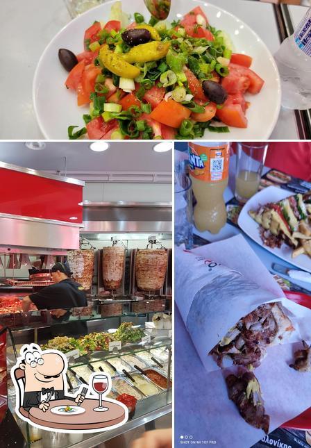 Food at Gyradiko