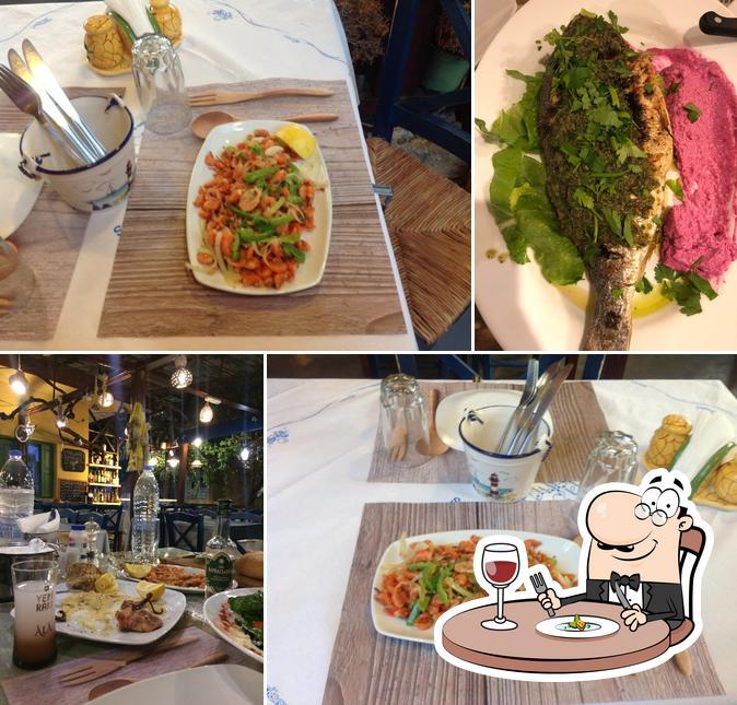 Food at Kokkinidis