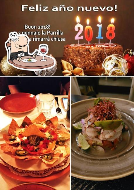 Food at La Parrilla