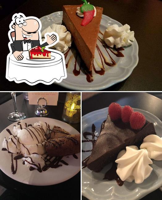 Lulu's Chocolate Bar предлагает широкий выбор сладких блюд
