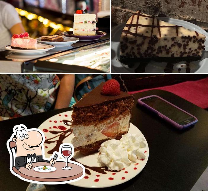 Еда в Lulu's Chocolate Bar