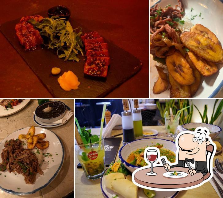 Food at Más Habana