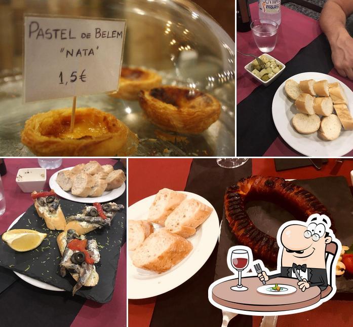 Comida en Oporto