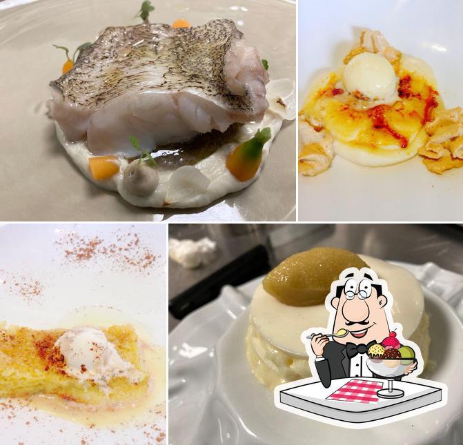 Restaurante-Arrocería El Rincón del Faro sirve distintos dulces