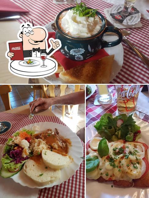 Essen im Gaststätte Zur Weberstube
