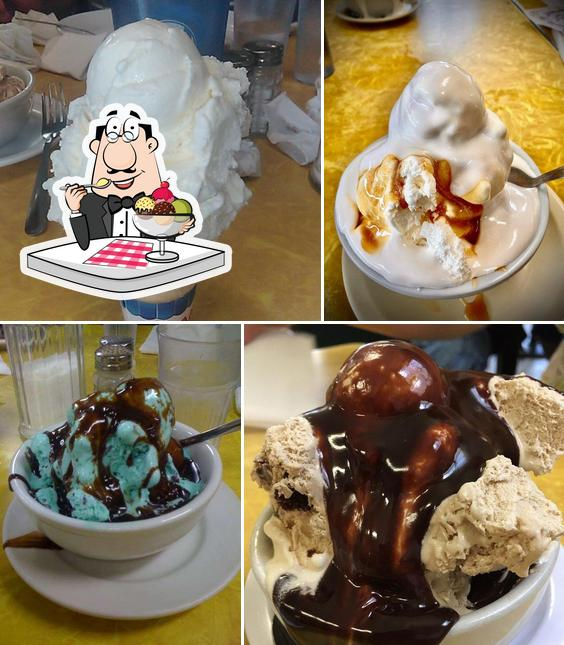Tom's Ice Cream Bowl serves a selection of sweet dishes