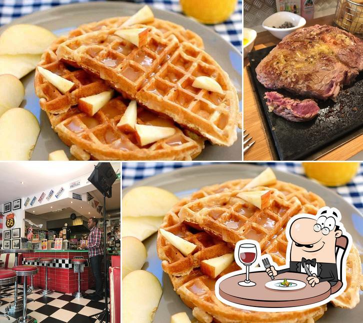Food at Waffle Jack's