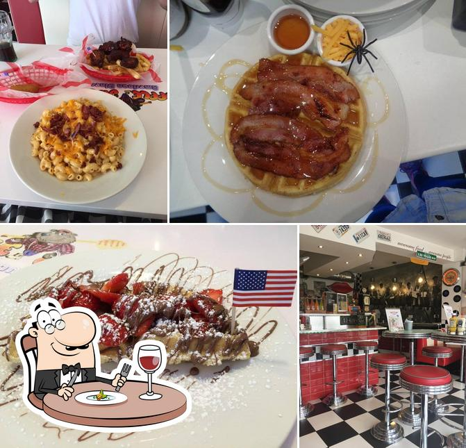 Meals at Waffle Jack's