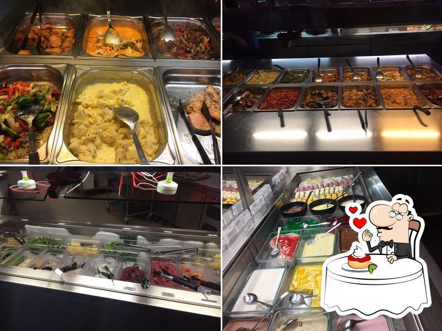 Wok & Roll bietet eine Vielfalt von Süßspeisen