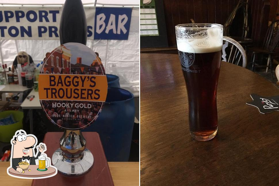 The Black Horse offers a number of beers