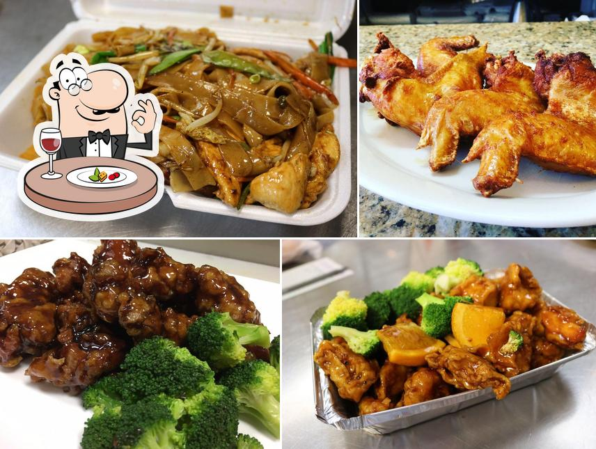 Comida en Yummy Chinese Restaurant