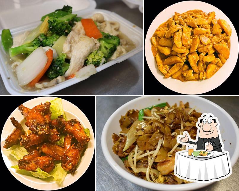Platos en Yummy Chinese Restaurant