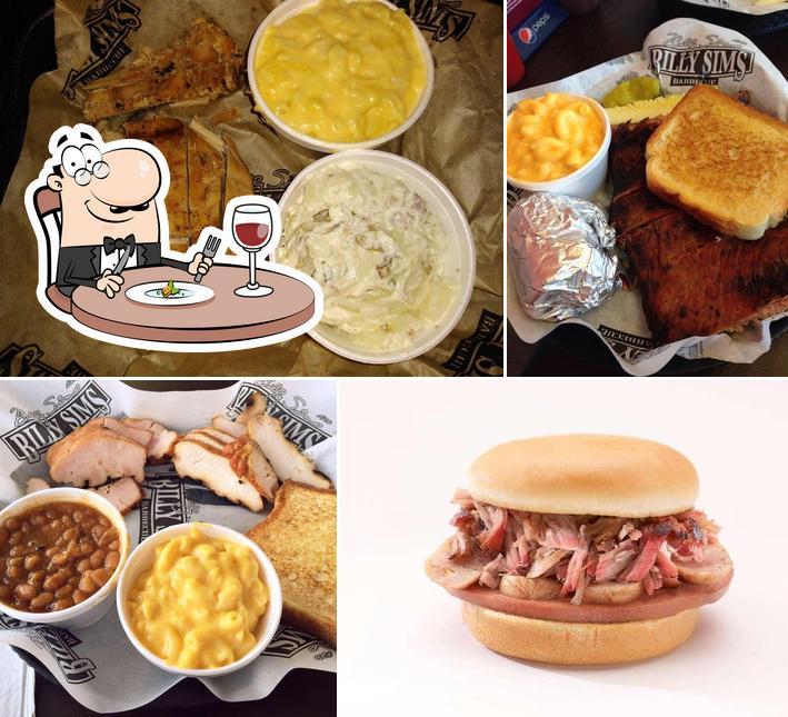 Блюда в Billy Sims BBQ