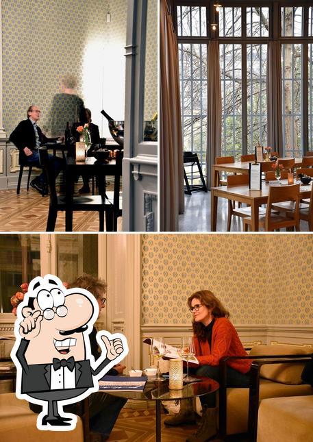 The interior of Museumscafé
