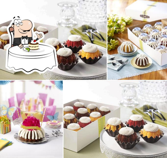 Nothing Bundt Cakes serves a range of sweet dishes