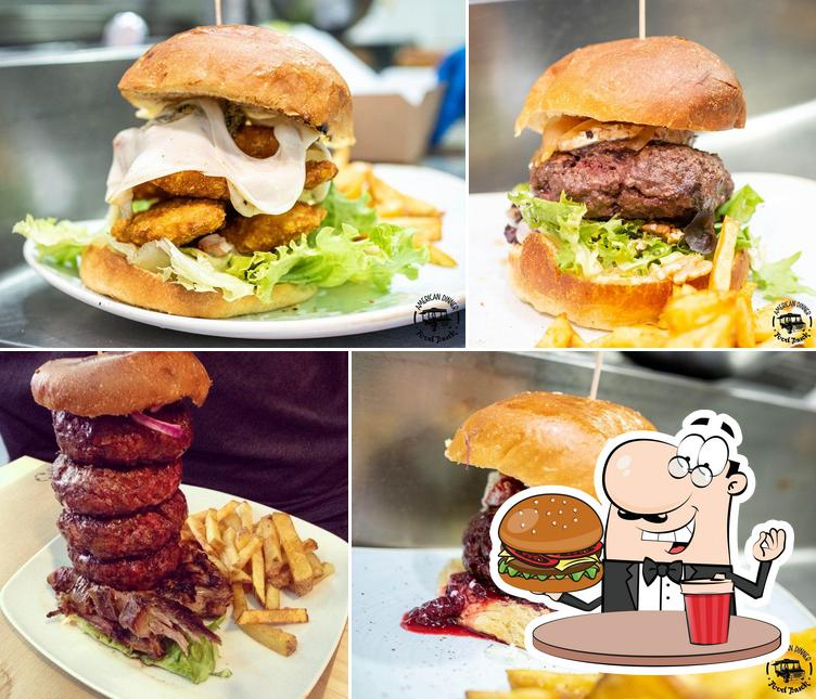 Food Truck's burgers will suit a variety of tastes