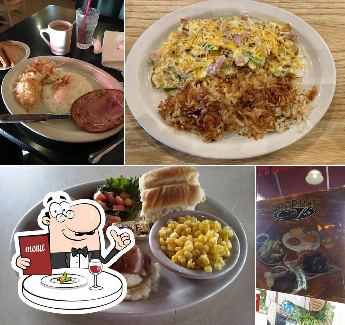 Food at Good Day Cafe