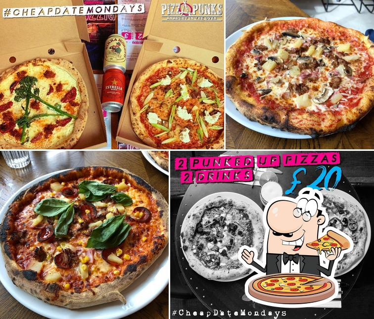 Try out different variants of pizza