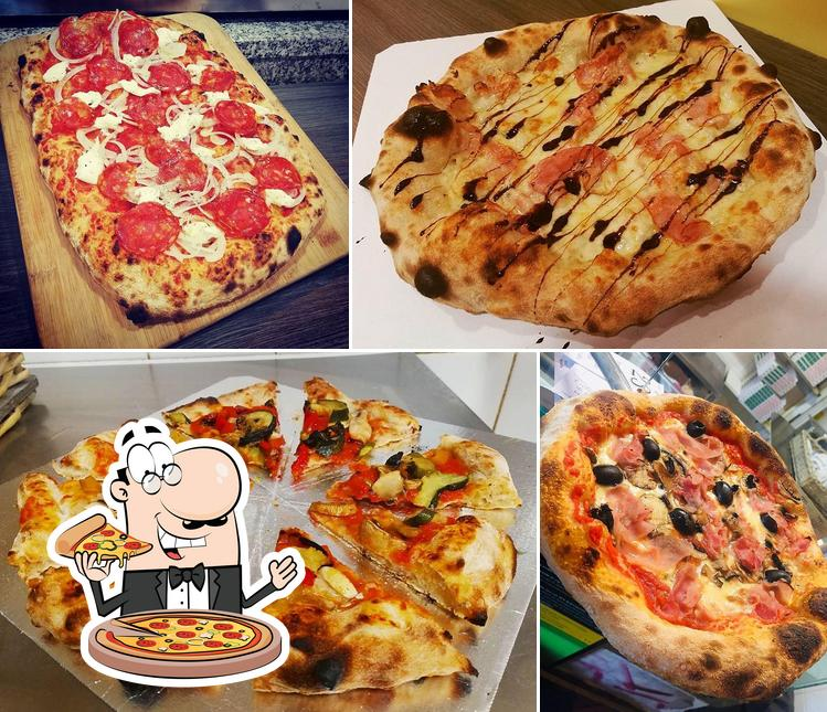 Try out pizza at Pizzeria Il Monello