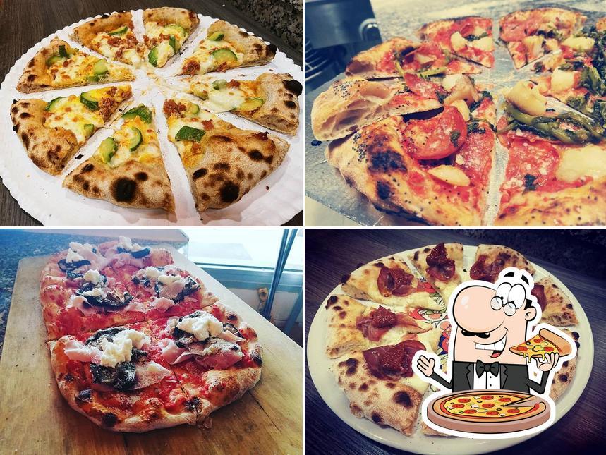 At Pizzeria Il Monello, you can taste pizza
