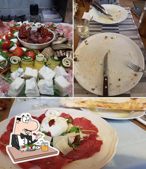 Essen im Pizzeria Osteria Da Giovanni