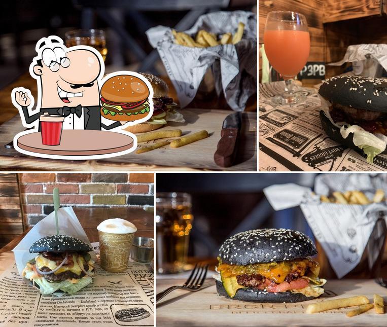 Попробуйте гамбургеры в Бургер Проджект