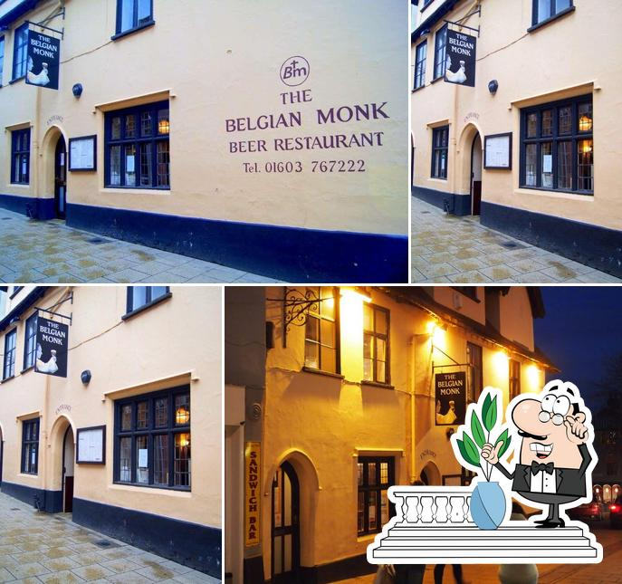 The exterior of Belgian Monk