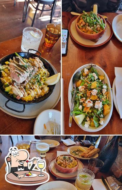 Food at Carmen Jones