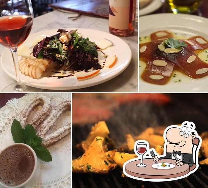 Food at El Meson