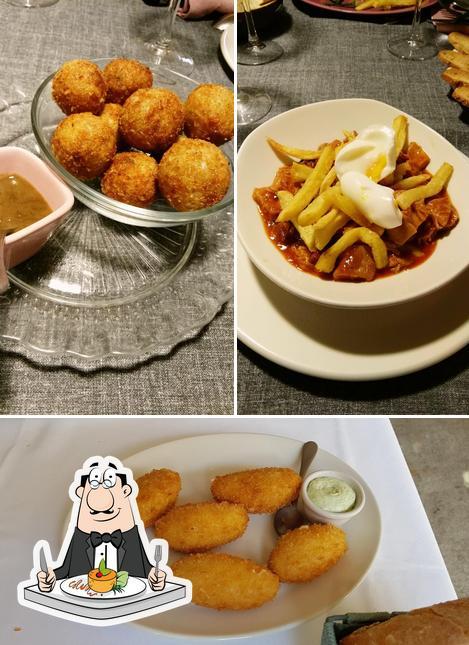 Platos en Restaurante Magnolia