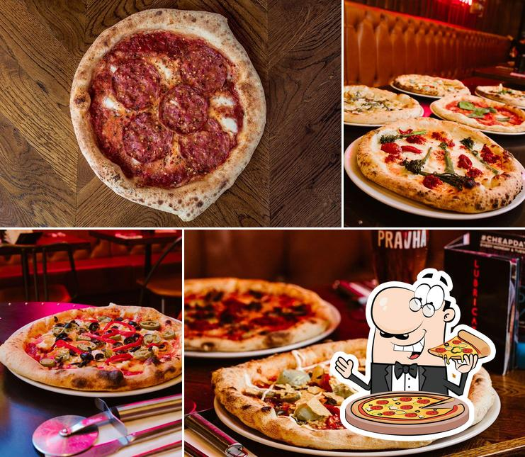 Try out pizza at Pizza Punks