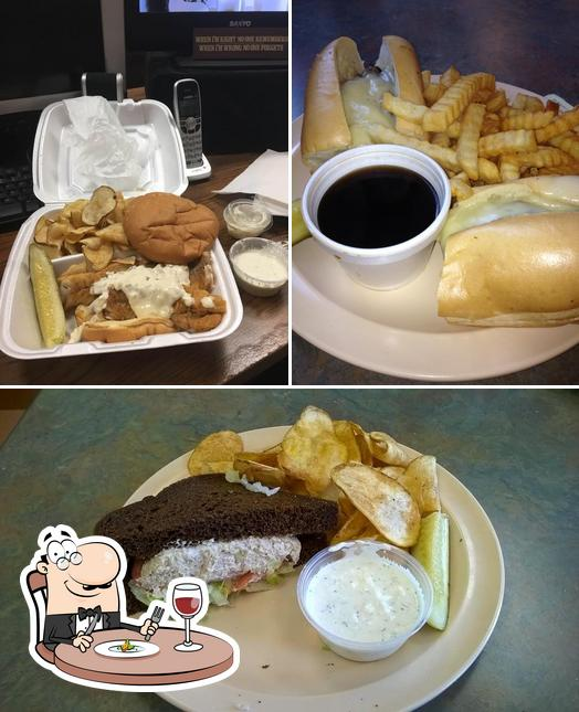Food at Dorian's