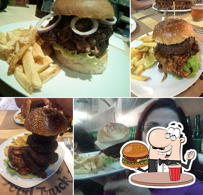 Try out a burger at Food Truck