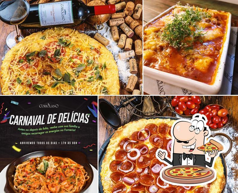 Experimente pizza no Forneria Coriolano
