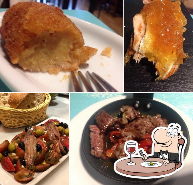 Comida en La Ultramarina
