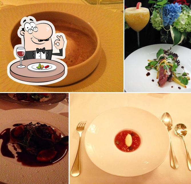 Meals at Les Nomades