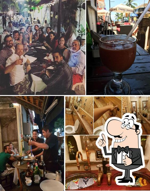 "Взгляните на снимок ресторана ""Carboncitos - Mexican Restaurant in Playa del Carmen"""
