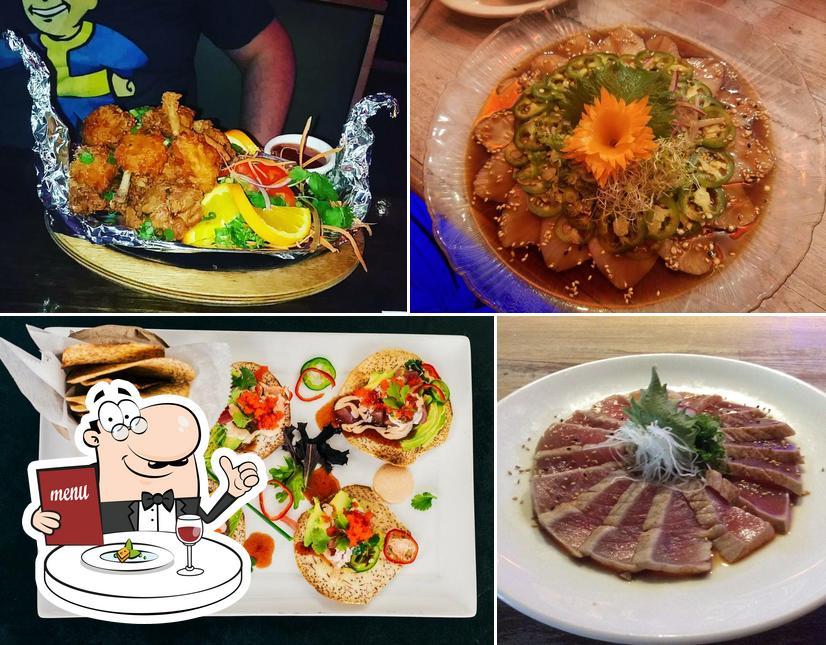 Meals at Moon Thai & Japanese