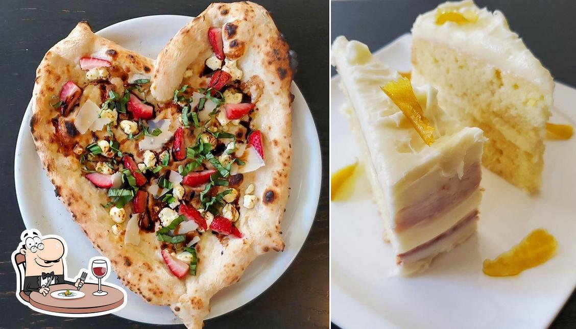 Food at Mozzeria