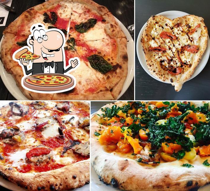 Order pizza at Mozzeria