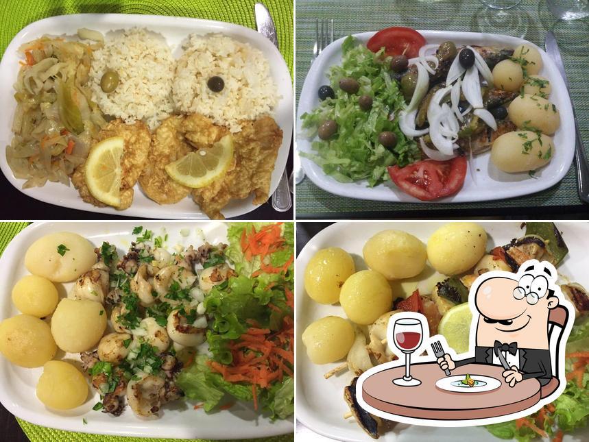 Блюда в O Marinheiro