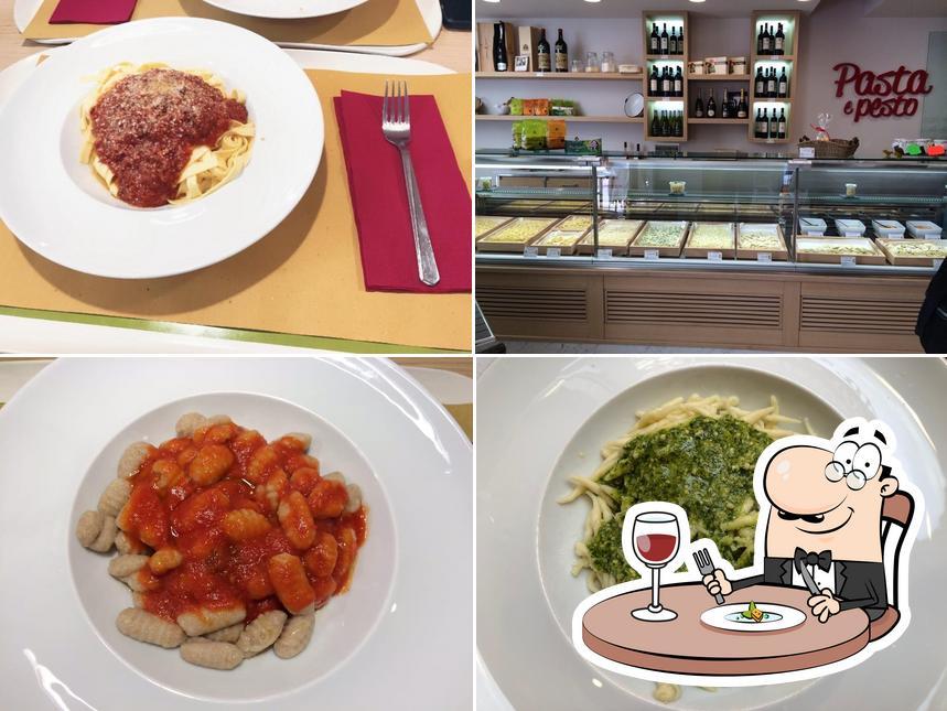 Gerichte im Pasta e Pesto