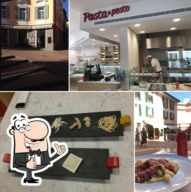 Foto von Pasta e Pesto