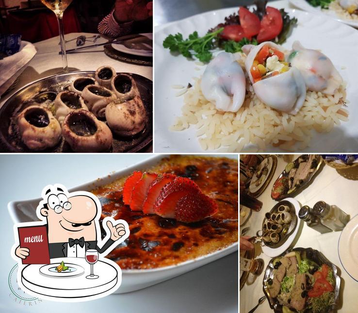 Comida en Restaurant Pierrot