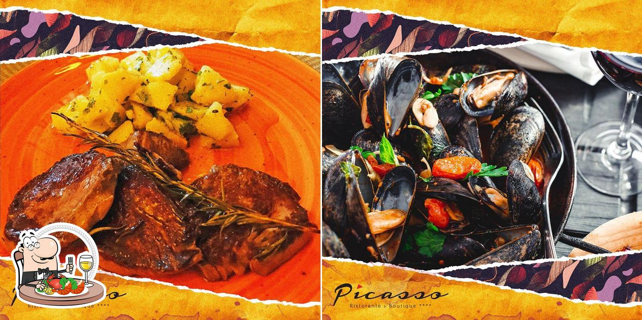 Order seafood at Ristorante Picasso
